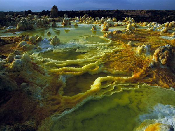 Dallol Volcano, Ethiopia, National Geographic