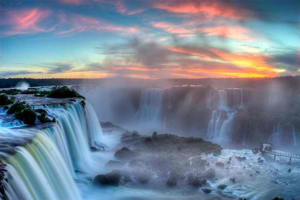 Iguazu Falls, Argentina & Brazil, ΑΝΙΩΘΟΙ