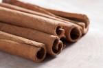 Close up of cinnamon