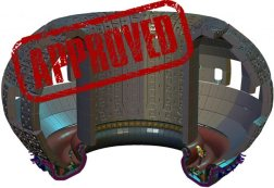 Approved: The ITER blanket and first wall are ready to proceed to the manufacturing stage. Credit: ITER org