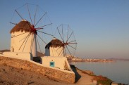 Windmills, Mikonos island, Mykonos