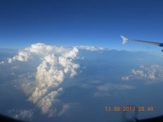 View from Airplane - Photo Credit: Camille Delcour 2013