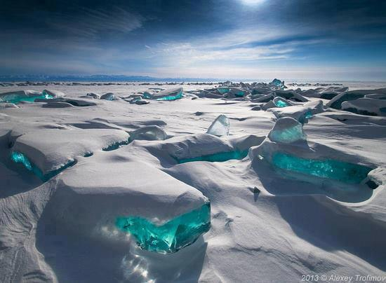 "5 – Turquoise Ice, Northern Lake Baikal, Russia, Facebook page ""Amazing Pictures"", https://www.facebook.com/killerpics?fref=ts"
