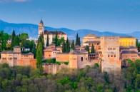 Spain, Andalucia, Granada Province, Granada, Alhambra Palace