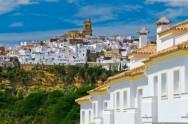 Spain, Andalucia, Cadiz Province, Arcos de la Frontera, a Pueblo Blanco, White Village