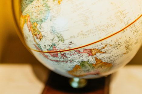 Globe Indonesia-Equator- Photo Credit: Pexels