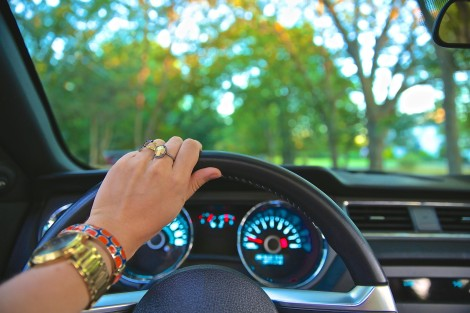 Hands on the wheel Photo credit: Pexels